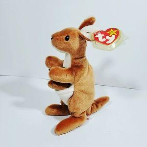 Pouch Ty Beannie baby Kangaroo